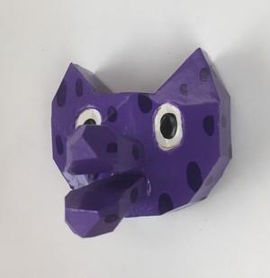 動物くちばしマグネット ネコ
