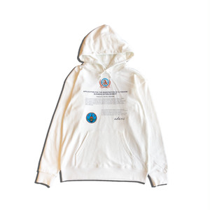 CONTRACT HOODIE / WHITE