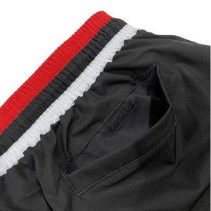 Zip Shorts / Bred