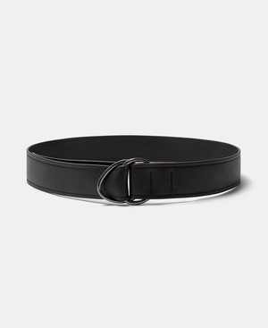WIDE LEATHER BELT WITH LOOPS [22557298110102]