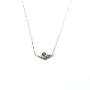 Sunset Necklace - K10YG,Benitoite