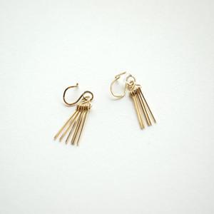 Short fringe ear clips