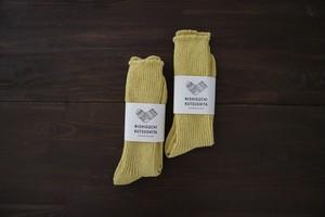 ヘンプコットンリブソックス NISHIGUCHI KUTSUSHITA 西口靴下 <日本製・奈良>