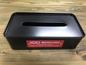 MERCURY マーキュリー ティッシュボックス マットブラック