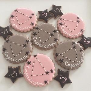 山羊座のアイシングクッキー