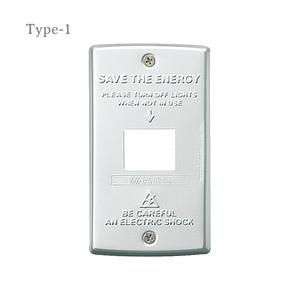 [TK-2041,2042,2043]Switch plate スイッチプレート / インダストリアル / アメリカン