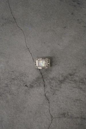 """Addiction silver 925 design ring """"stone"""""""