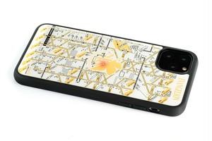 FLASH NERV 基板アート iPhone 11 Pro Max ケース 白【東京回路線図A5クリアファイルをプレゼント】