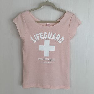 LIFEGUARD T-shirt for Lady's:PINK