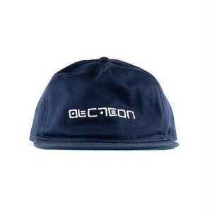 Doubles Cipher Logo 5 Panel Unstructured Snapback - Navy