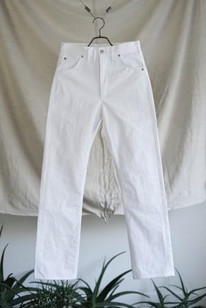 TUKI - cowboy pants (white)