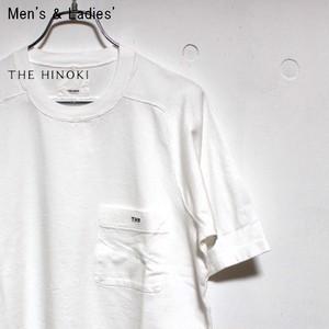 《ラスト1点》THE HINOKI 「THE」ポケットTシャツ (WHITE)
