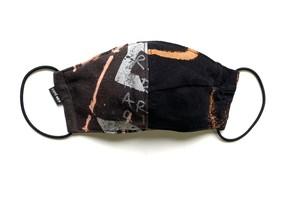 【デザイナーズマスク 吸水速乾COOLMAX使用 日本製】BAND T-SHIRTS MASK CTMR 0910189