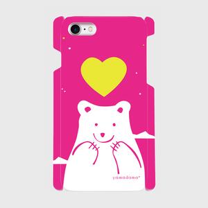 pink_shirokuma 側表面印刷スマホケース iPhone7