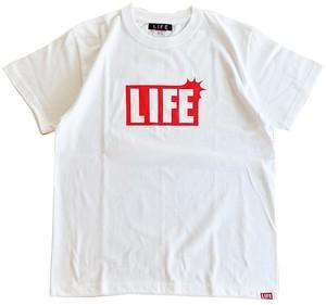 LIFEクラシックロゴTEE