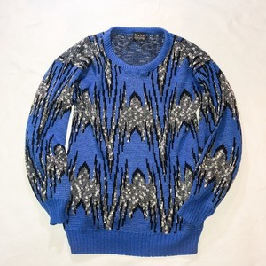 80's new Era  MULTI PATTERN KNIT