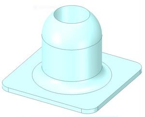 「ダイフクロング」小ビン立ての3Dプリンタデータ