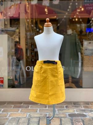 KIDS:GRAMiCci【グラミチ】KIDS MOUNTAIN SKIRT(YELLOW/140,150cm)ミニスカート