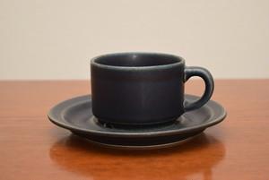 アラビアコルピ ⑤コーヒーカップ&ソーサー【ARABIA/Korpi】北欧 食器・雑貨 ヴィンテージ | ALKU