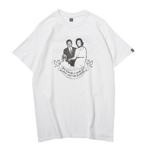CARRLES S/S TEE(WHITE)[TH8A-SS3]
