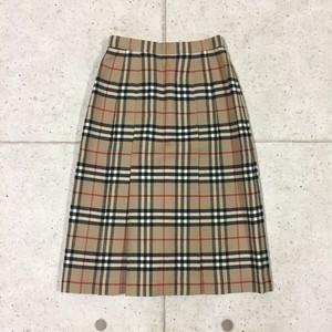 OLD BURBERRYS ノバチェックウールスカート