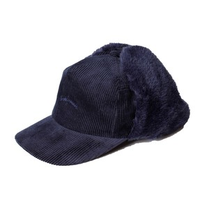 Corduroy Flight Cap -navy <LSD-AI3AC1>