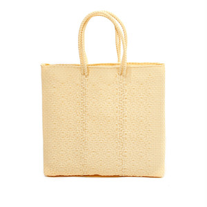 MERCADO BAG ROMBO - Cream(M)