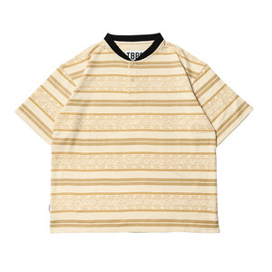 Tightbooth ENCORE HENLEY SHIRT beige タイトブース シャツ