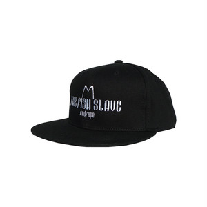 【THE FISH SLAVE SNAPBACK CAP】black