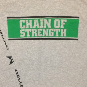 "CHAIN OF STRENGTH ""The One Thing..."""