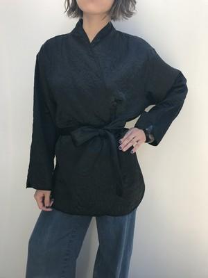 Vintage black quilting jacket ( ヴィンテージ  ブラック キルティング ジャケット )