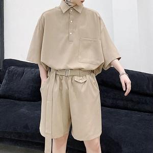 ポロシャツ+ハーフパンツ セットアップ BL6122