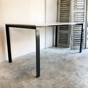 """Ahrend"" Bi-Color Metal Work Table オランダ"