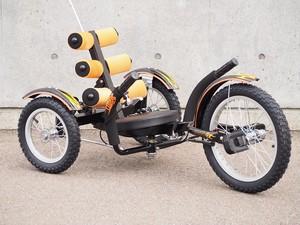 品番F-001 フラットサイクル(子供用) / FLAT CYCLE [For Child]