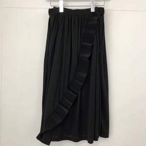 EAUSEENON Two Tone Skirt Black