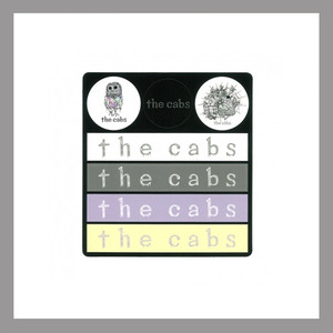 【the cabs】ステッカー2