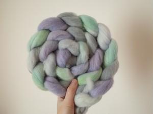 手染め羊毛
