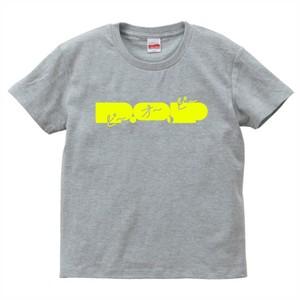 P.O.PロゴTシャツ 2017SUMMER(グレー / イエロー)