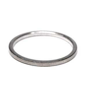 Hermès Vintage  18k White Gold Ring