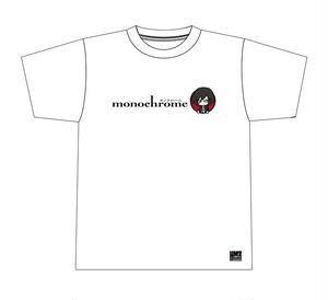 モノクローム オフィシャルTシャツ(ホワイト) [MC-TS001]