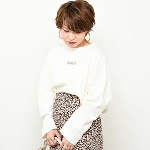 686620160 ちびロゴ刺繍ロンT