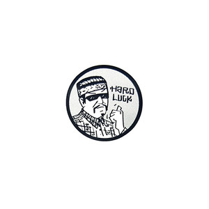 HARD LUCK - FREE RIDE STICKER (White) 62mm