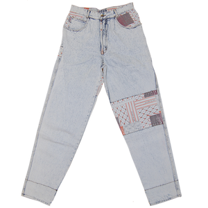 """Get Used"" Vintage Denim Pants Used"