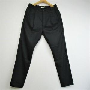 Kafika サーモライトガルゼ織りラウンジパンツ  COL,BLACK