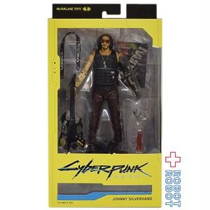 マクファーレントイズ サイバーパンク 2077  ジョニー・シルヴァーハンド 7インチ アクションフィギュア
