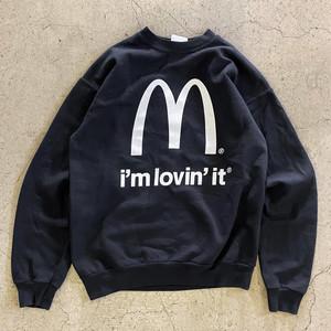 "〜00's ""McDonald's"" Logo Print Sweat"