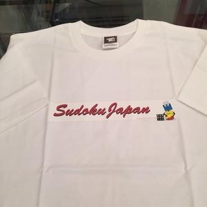 数独Tシャツ 長方形シートデザイン ホワイト