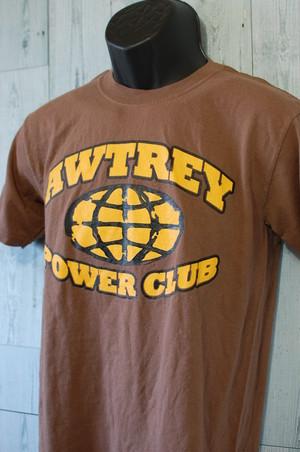 アメリカ輸入古着Tシャツ RankB☆AWTREY POWER CLUBTシャツ