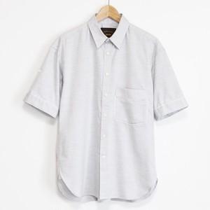 Halfsleeve Oxchambray Shirt -L.gray