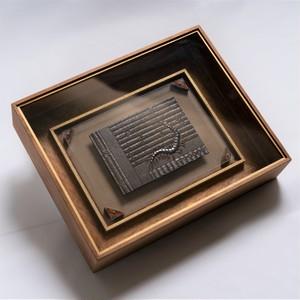 古畳蜈蚣図標本箱【⽯井瑛湖】